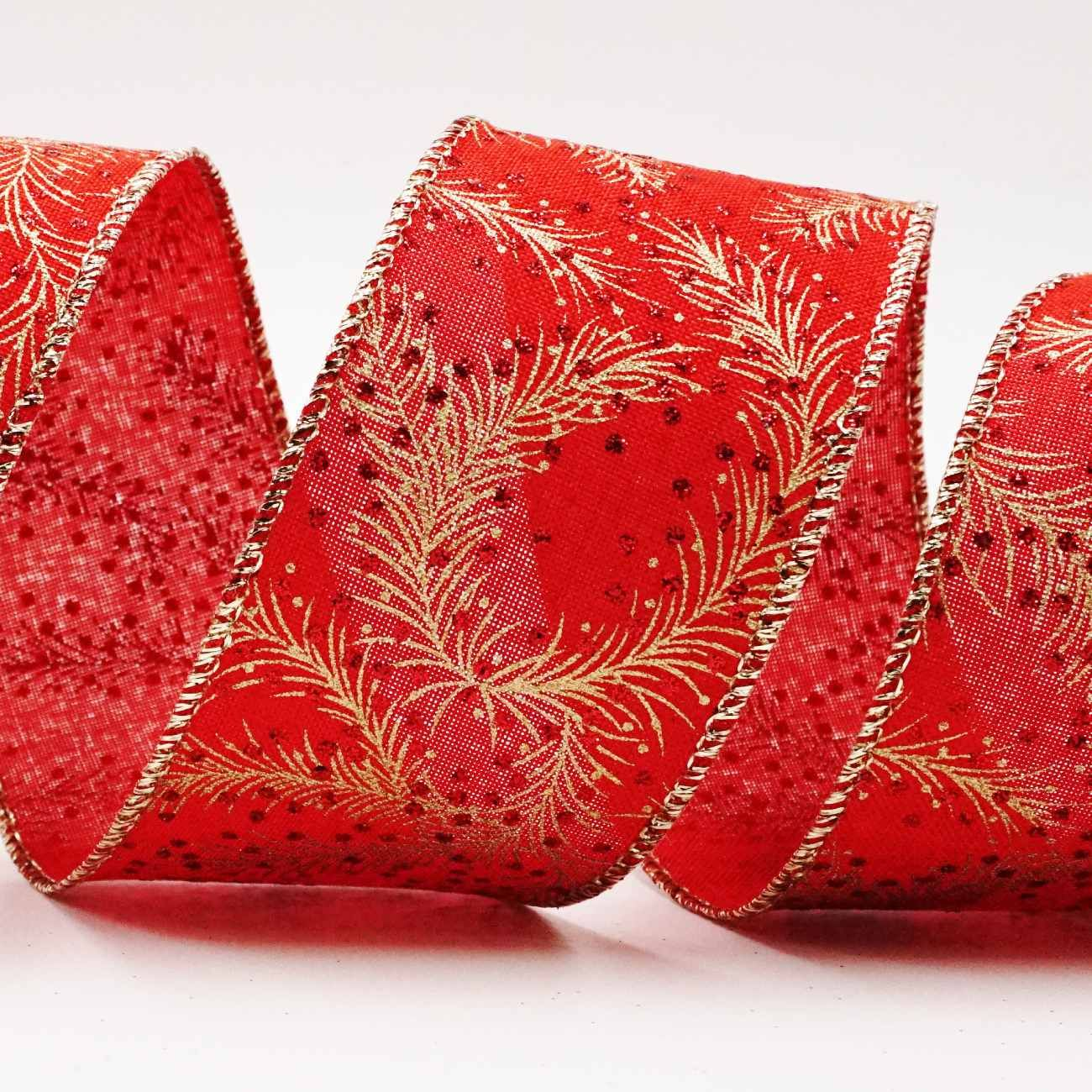 Christmas Pine Berry Ribbon