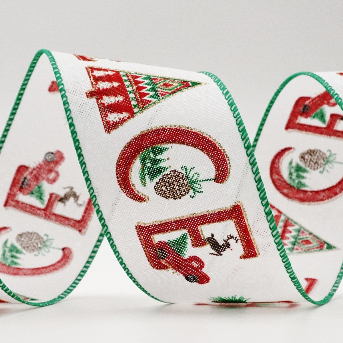 "Decorated ""PEACE"" Ribbon"